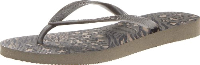 6b1f42f6328463 Lyst - Havaianas Slim Animal Flip Flop in Gray
