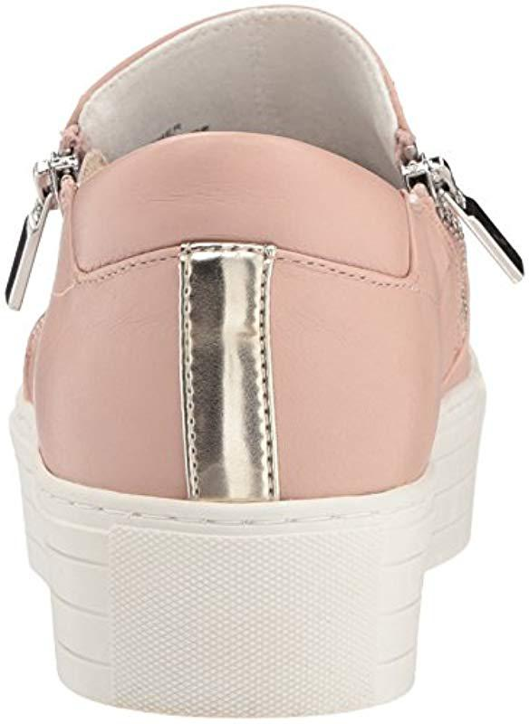 1e9a9fb7158 Lyst - Kenneth Cole Juneau Platform Sneaker With Dual Side Zippers ...