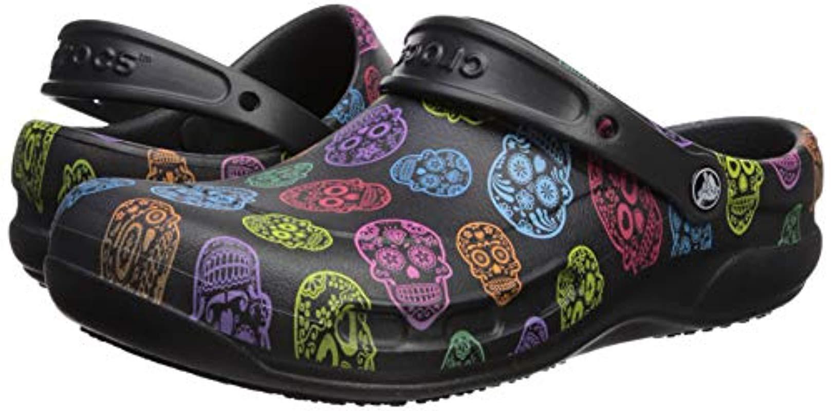 5f791cfc8844 Lyst - Crocs™ And Bistro Graphic Clog