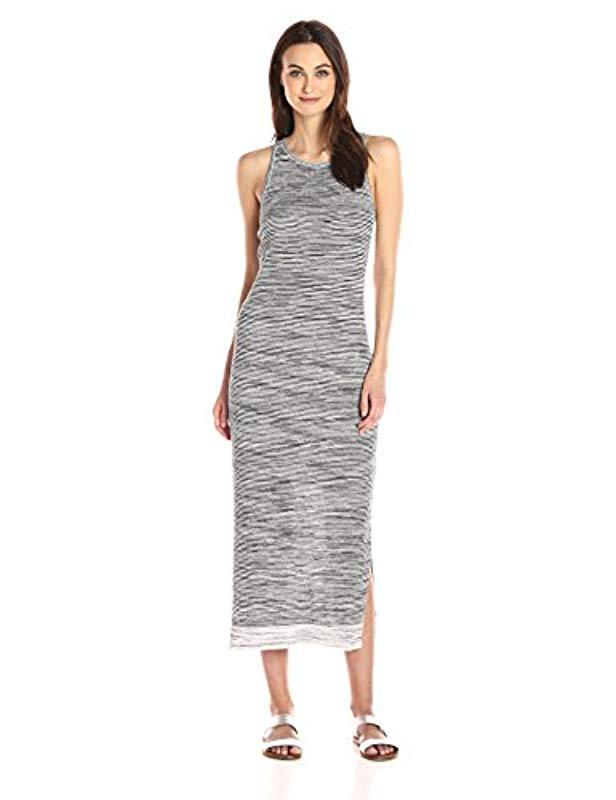 df9b8e96bc Lyst - Theory Intrella Space Dye L Dress in Gray - Save ...