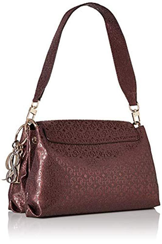 dc2251f3ff83 Guess - Multicolor Tamra Metallic Shoulder Bag - Lyst. View fullscreen