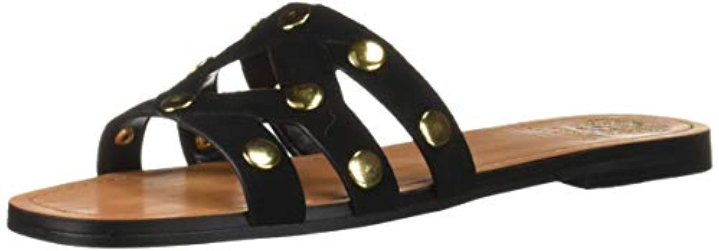 3f2b507de09f Lyst - Vince Camuto Vazista Slide Sandal in Black