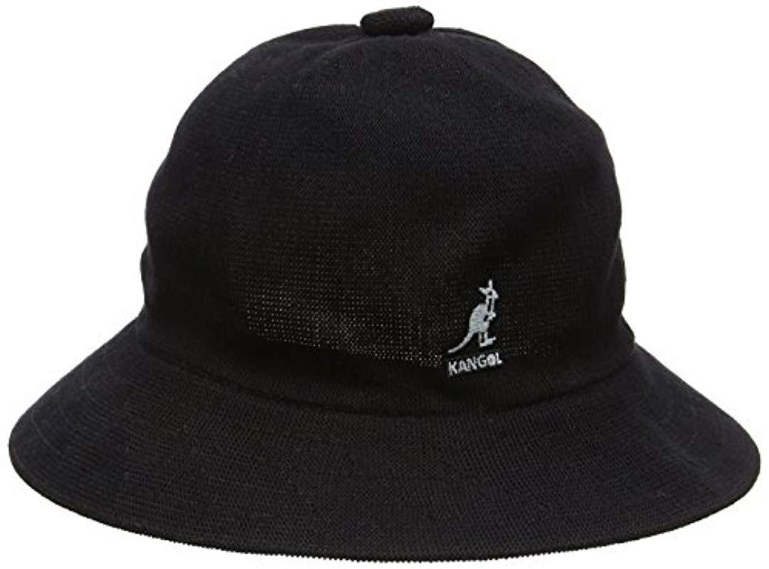 bf5522aabd4 Lyst - Kangol Bamboo Casual in Black for Men - Save 5.882352941176464%