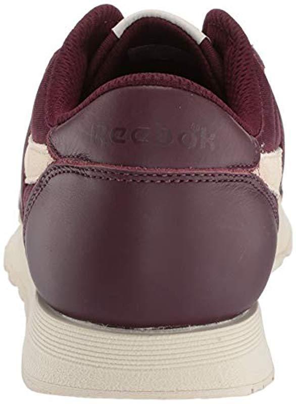 ef9911c0187bd Reebok - Purple Classic Nylon Sneaker for Men - Lyst. View fullscreen