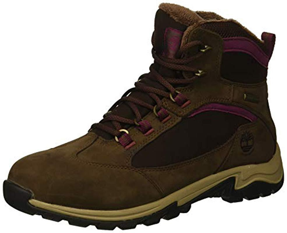 a86560b05a Timberland. Women's Brown Mt. Maddsen Winter Waterproof Ins Hiking Boot