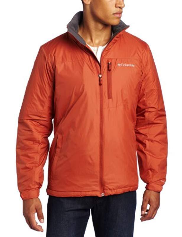 Columbia Hexie Heights Jacket in Orange for Men - Lyst