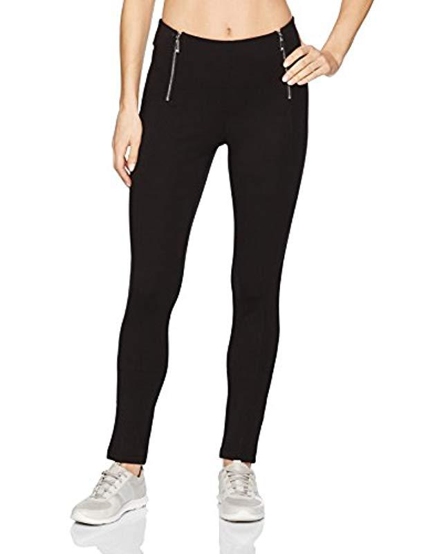 efd7d5b67963a Lyst - Ivanka Trump Ponte Legging With Zippers in Black - Save 77%