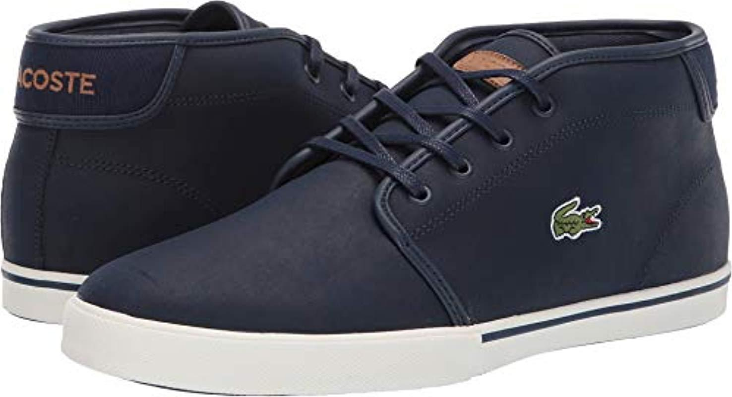 2a9d6adb3 Lacoste. Men s Blue Ampthill Sneaker.  50 From Amazon Prime. Free shipping  ...