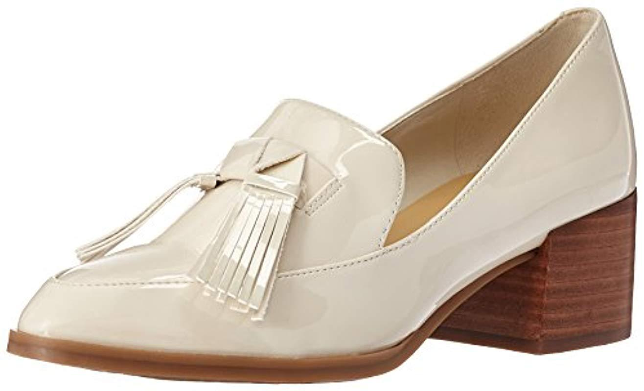 e218e48a634 Lyst - Marc Fisher Phylicia Loafer in White