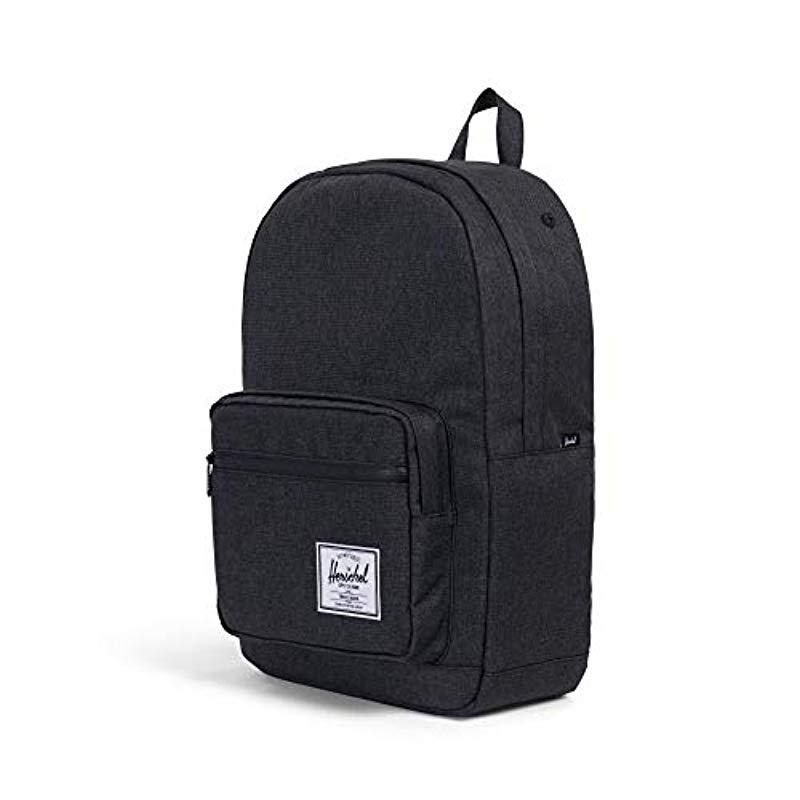 2ca0a265577 Herschel Supply Co. - Black Pop Quiz Mid-volume Backpack - Lyst. View  fullscreen