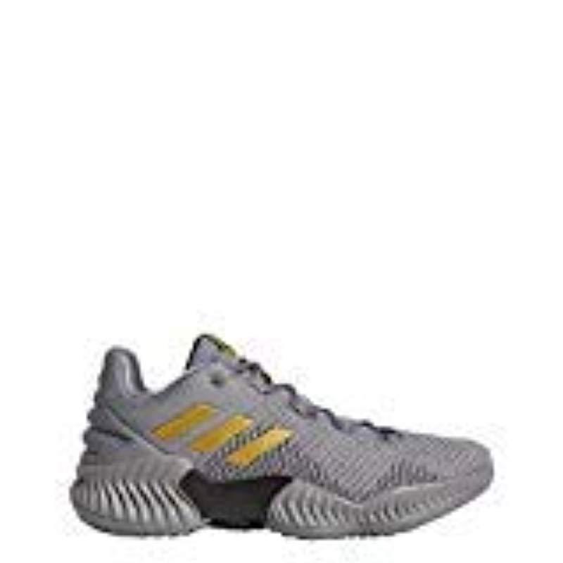 7906e8e8e14 Adidas Originals - Gray Pro Bounce 2018 Low Basketball Shoe for Men - Lyst.  View fullscreen