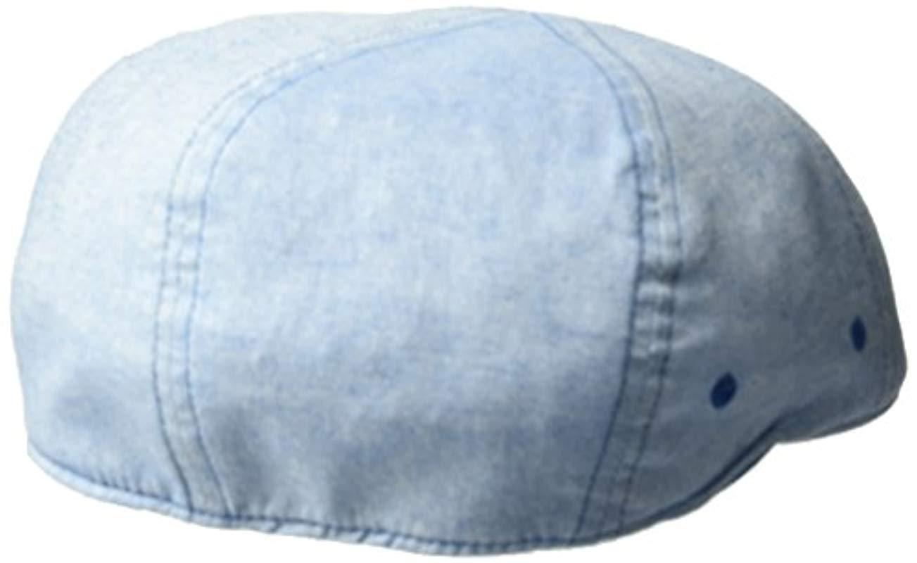 1af2300c Lyst - Kangol Pattern Flexfit 504 Ivy Cap in Blue for Men - Save 13%