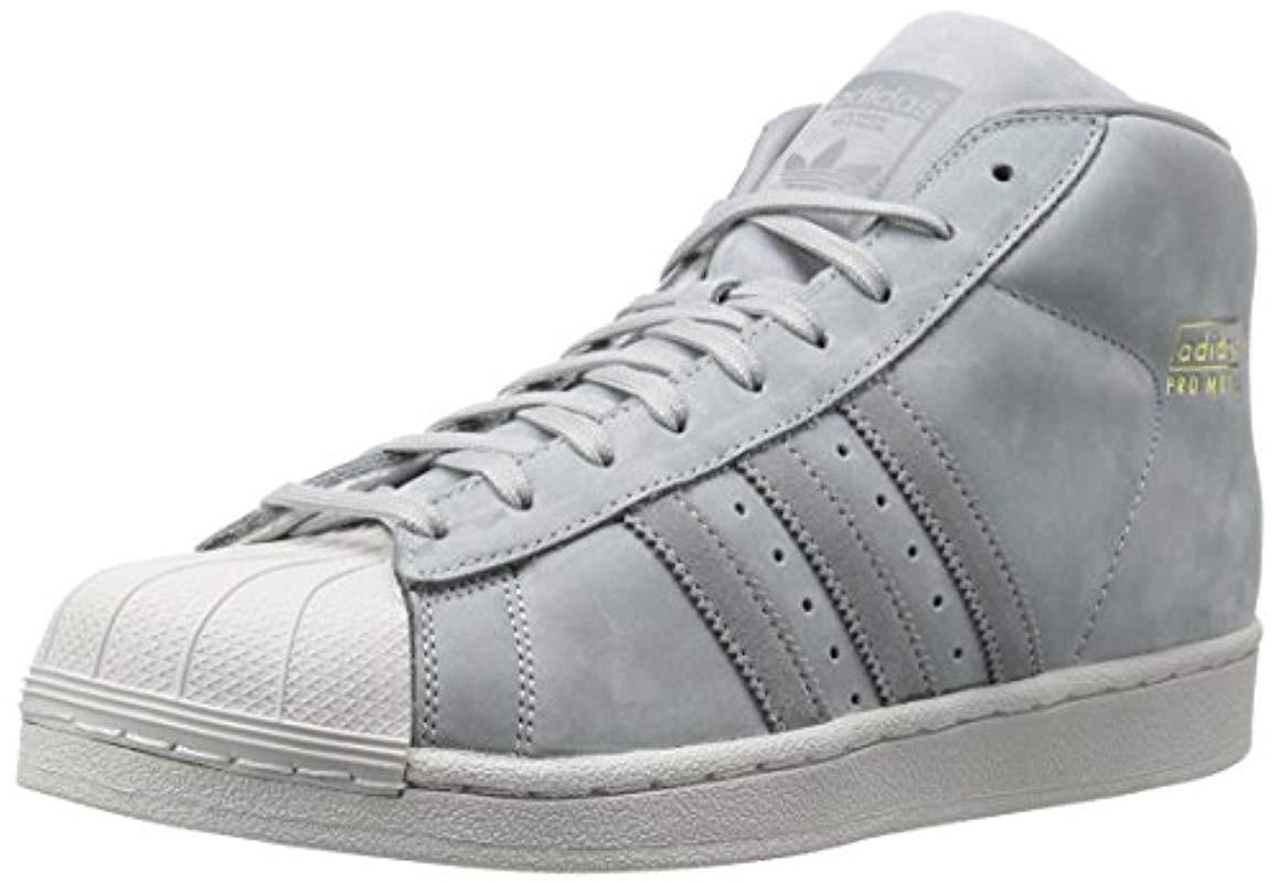adcde7f443e adidas. Men s Gray Pro Model ...
