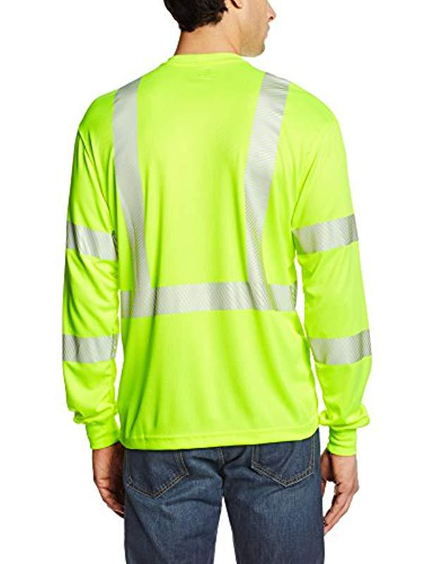 c58dc366 Lyst - Carhartt High Visibility Force Long Sleeve Class 3 Tee for Men -  Save 17%