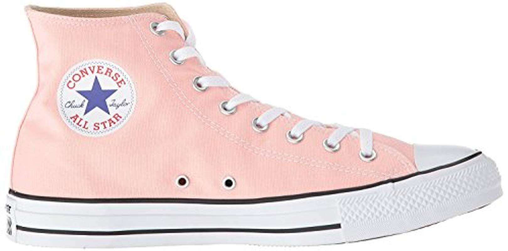 62868a74e200 Converse - Pink Chuck Taylor All Star 2018 Seasonal High Top Sneaker -  Lyst. View fullscreen