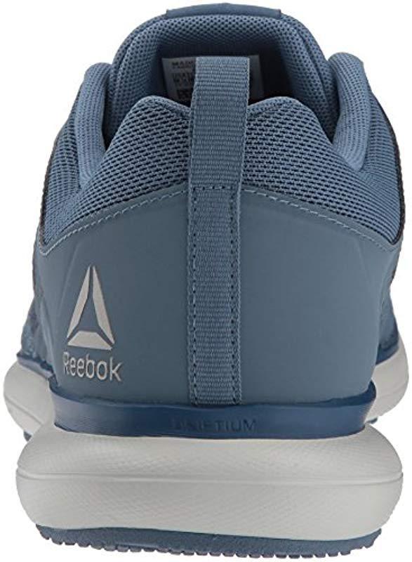 5c7d4ead3ca287 Reebok - Blue Driftium Ride Running Shoe for Men - Lyst. View fullscreen