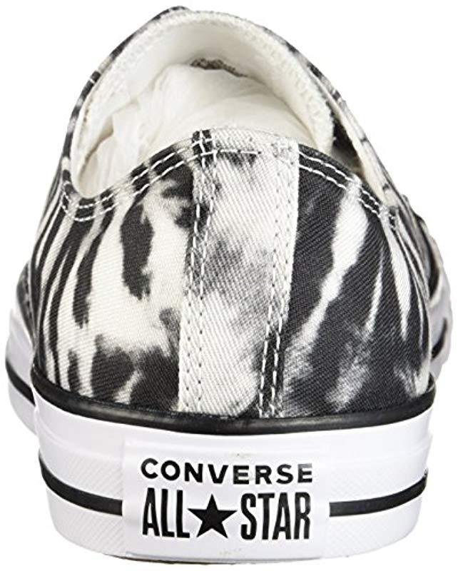 cd0428e38955b4 Lyst - Converse Chuck Taylor All Star Tie Dye Low Top Sneaker in Black for  Men