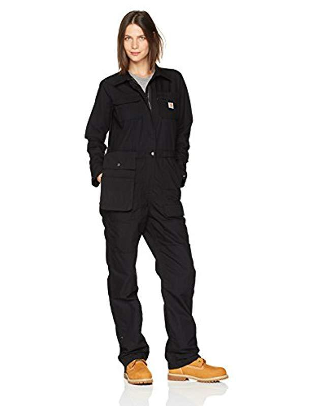074ac7768ca Lyst - Carhartt Smithville Coverall in Black