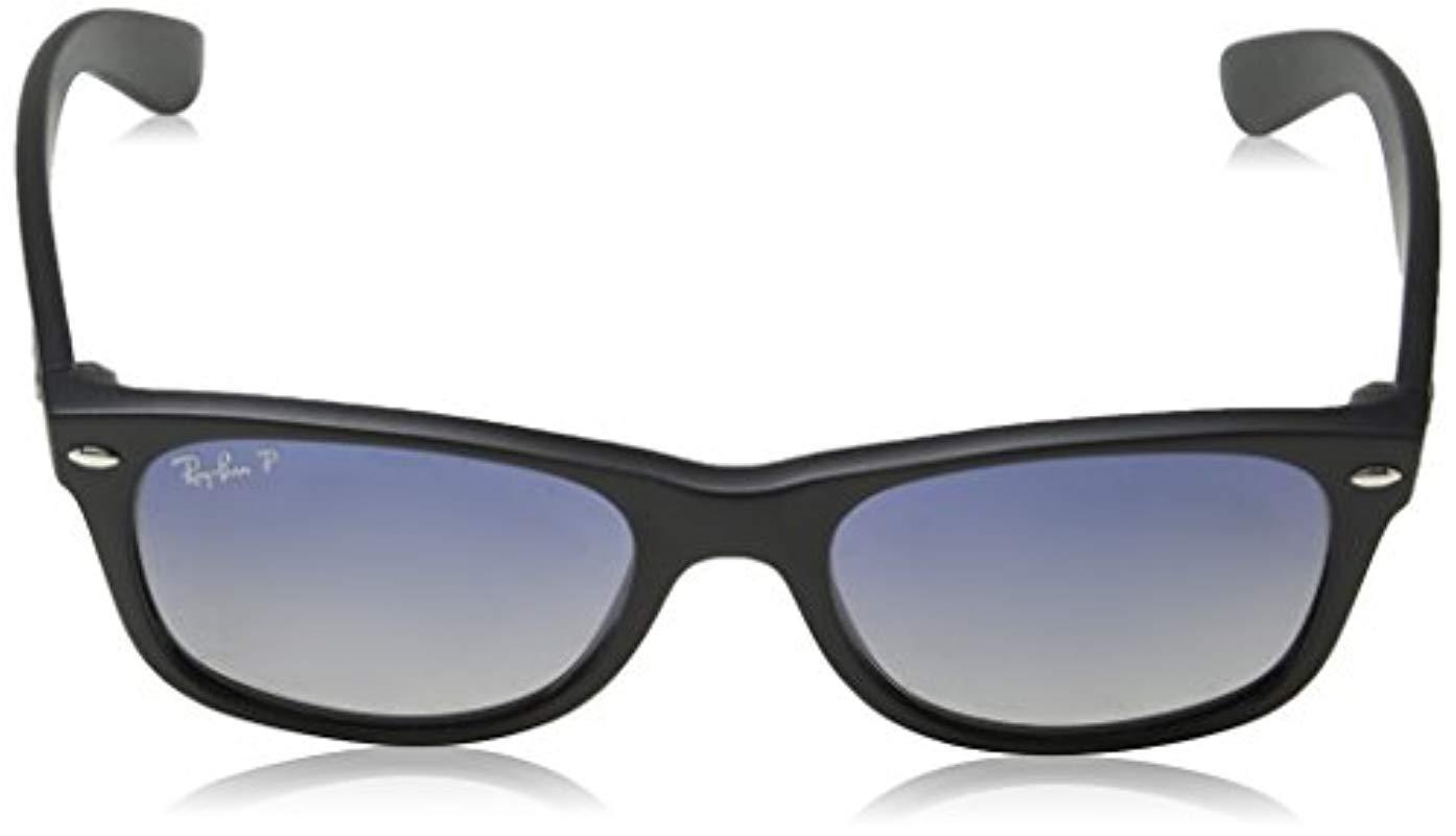 d43447c1c976a Ray-Ban - Black Rb2132 New Wayfarer Sunglasses for Men - Lyst. View  fullscreen