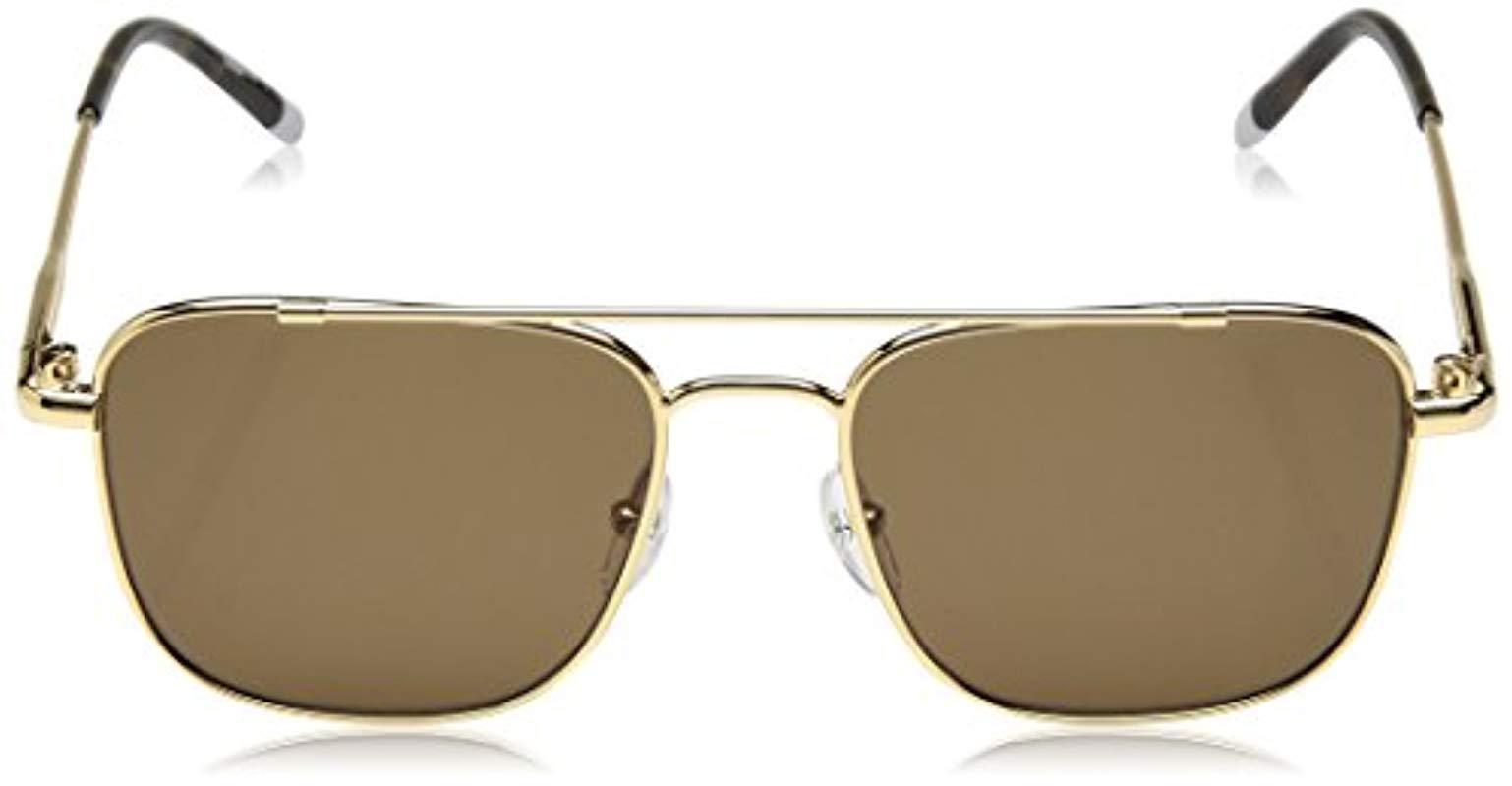 815dc1ff06c4 Calvin Klein - Metallic Unisex Ck2150s Navigator Sunglasses Aviator, Gold,  53 Mm - Lyst. View fullscreen
