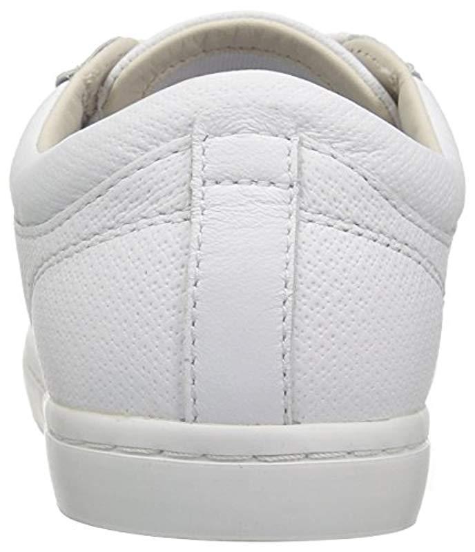 0adaf1db6cba4 Lacoste - White Straightset 316 1 Caw Fashion Sneaker - Lyst. View  fullscreen