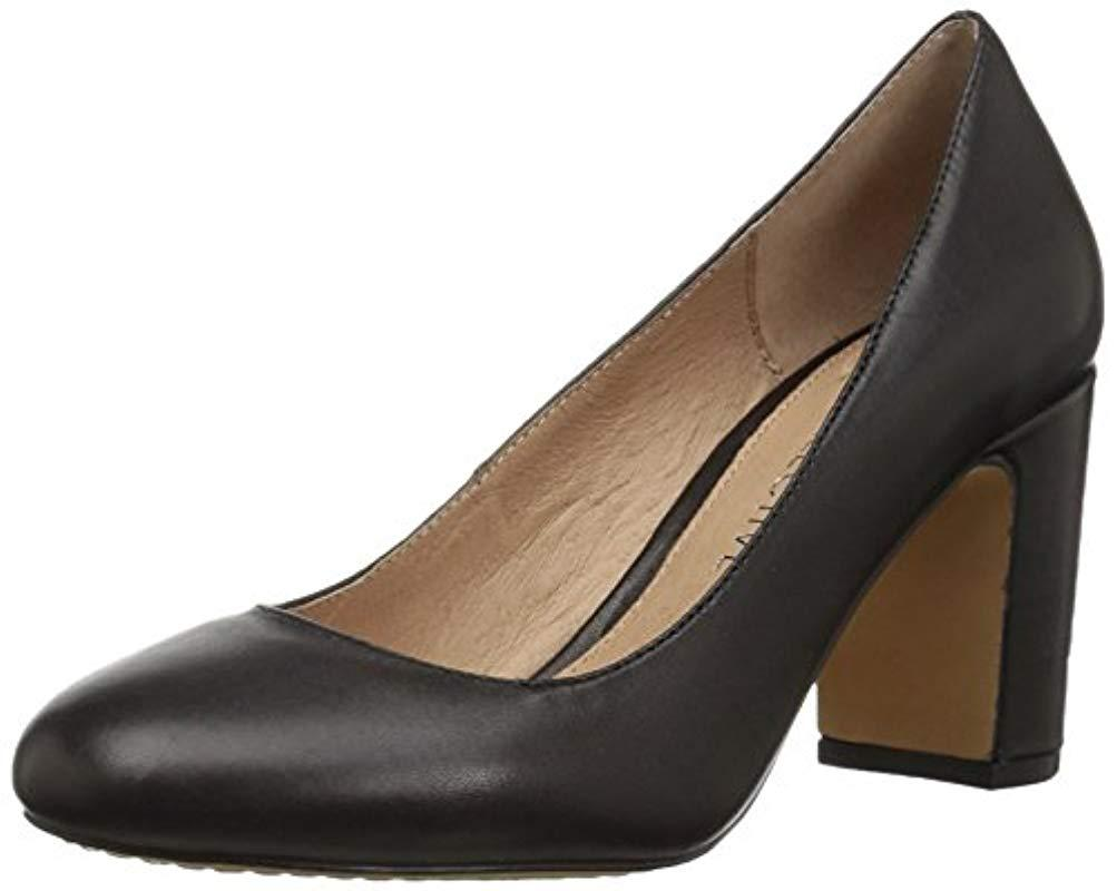 0ed62ce4c 206 Collective Coyle Round Toe Block Heel Pump-high in Black - Lyst