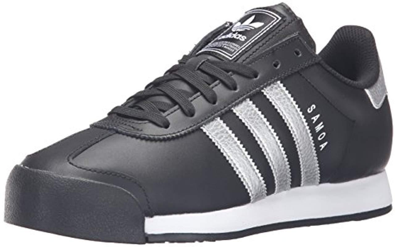 the best attitude fc831 0a5b5 Lyst - adidas Originals Adidas Samoa Black White S Trainers, Black ...