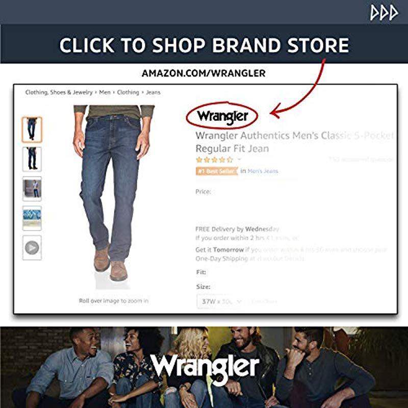 ff3a6a4b Wrangler - Multicolor Authentics Big & Tall Classic Carpenter Jean for Men  - Lyst. View fullscreen