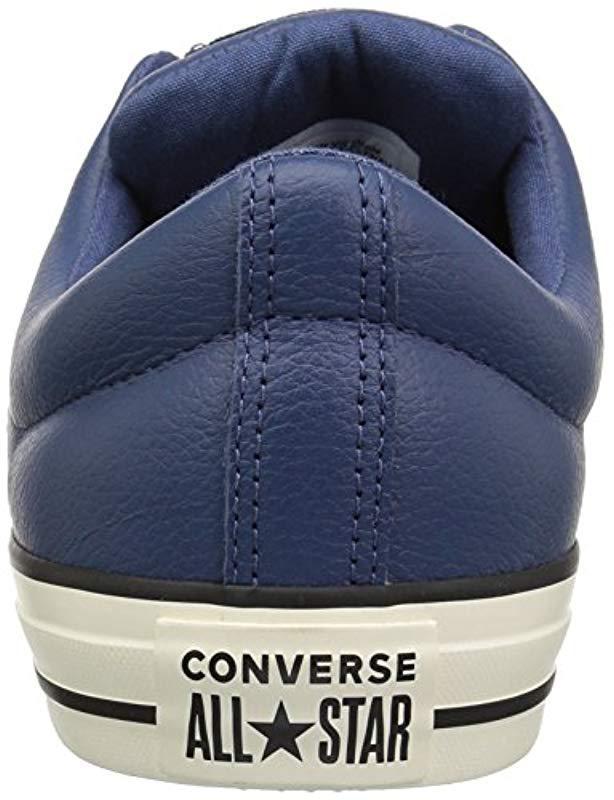 Lyst - Converse Ctas High Street Ox Mason Blue egret Sneaker in Blue for Men b549da1d4