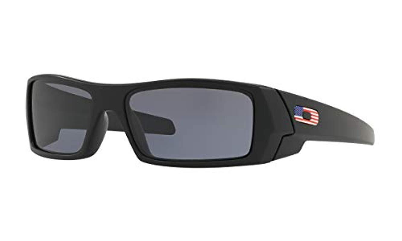 44501ca837 Lyst - Oakley Oo9014 Gascan Sunglasses in Black for Men - Save 4%