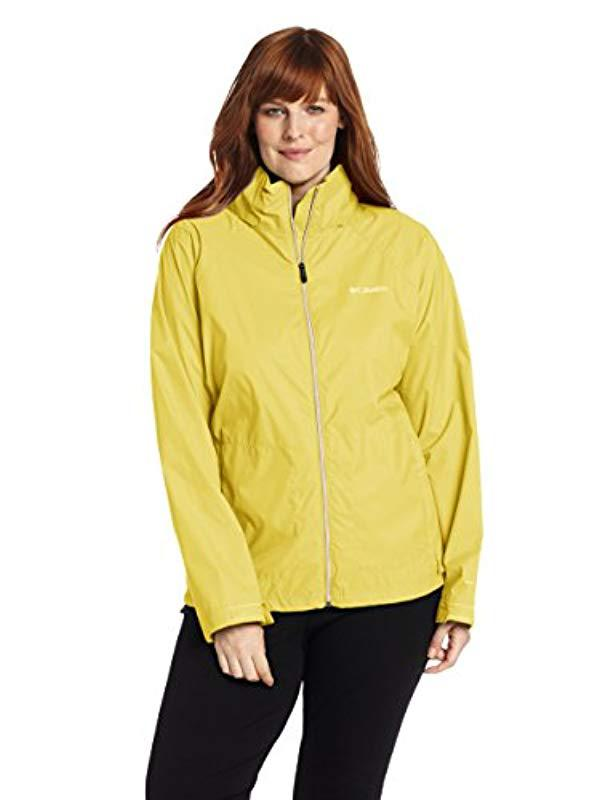 5e77452f5c9 Lyst - Columbia Plus-size Switchback Ii Jacket Plus-size in Yellow ...