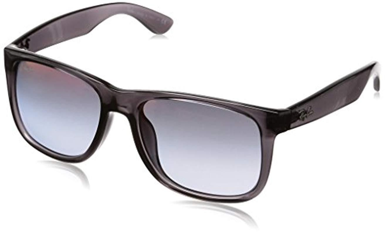 Lyst - Ray-Ban Justin Rb 4165f Sunglasses in Gray for Men 5ee3ecac433c