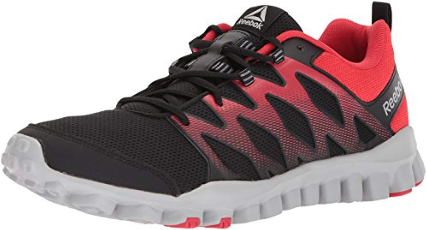 f7f4ab32b13 Lyst - Reebok Realflex Train 4.0 Running Shoe for Men - Save ...