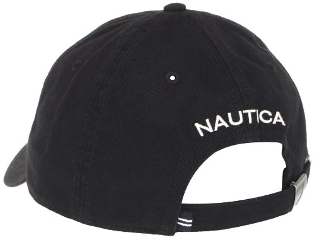 51efb8e29c7 Lyst - Nautica J-class Hat in Black for Men - Save 5%