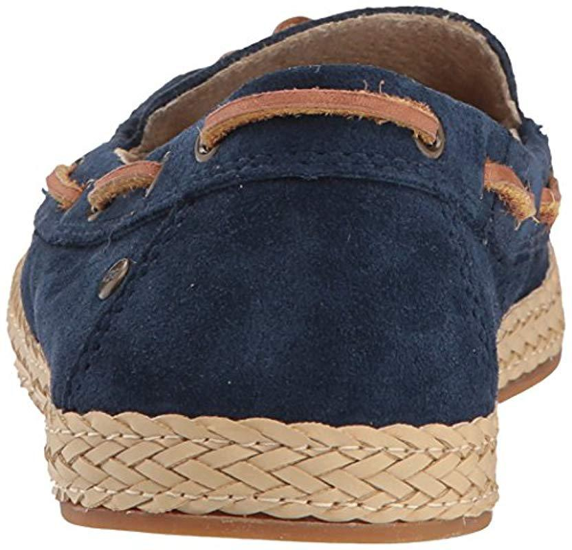 6de895c6bc2 Ugg - Blue Channtal Loafer Flat - Lyst. View fullscreen