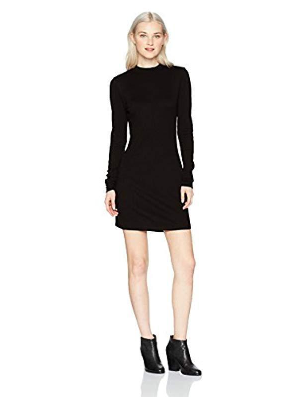 7f4e8105ced Lyst - RVCA Latte Long Sleeve Body Con Dress in Black - Save 10%