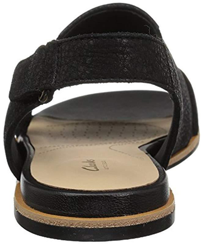 549d206c7a36 Lyst - Clarks Sultana Rayne Sandal in Black - Save 29%
