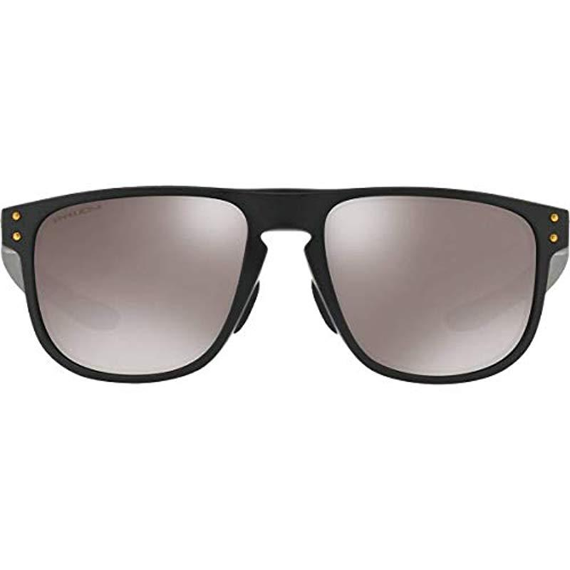26438325f9 Lyst - Oakley Holbrook R (a) Polarized Iridium Square Sunglasses ...