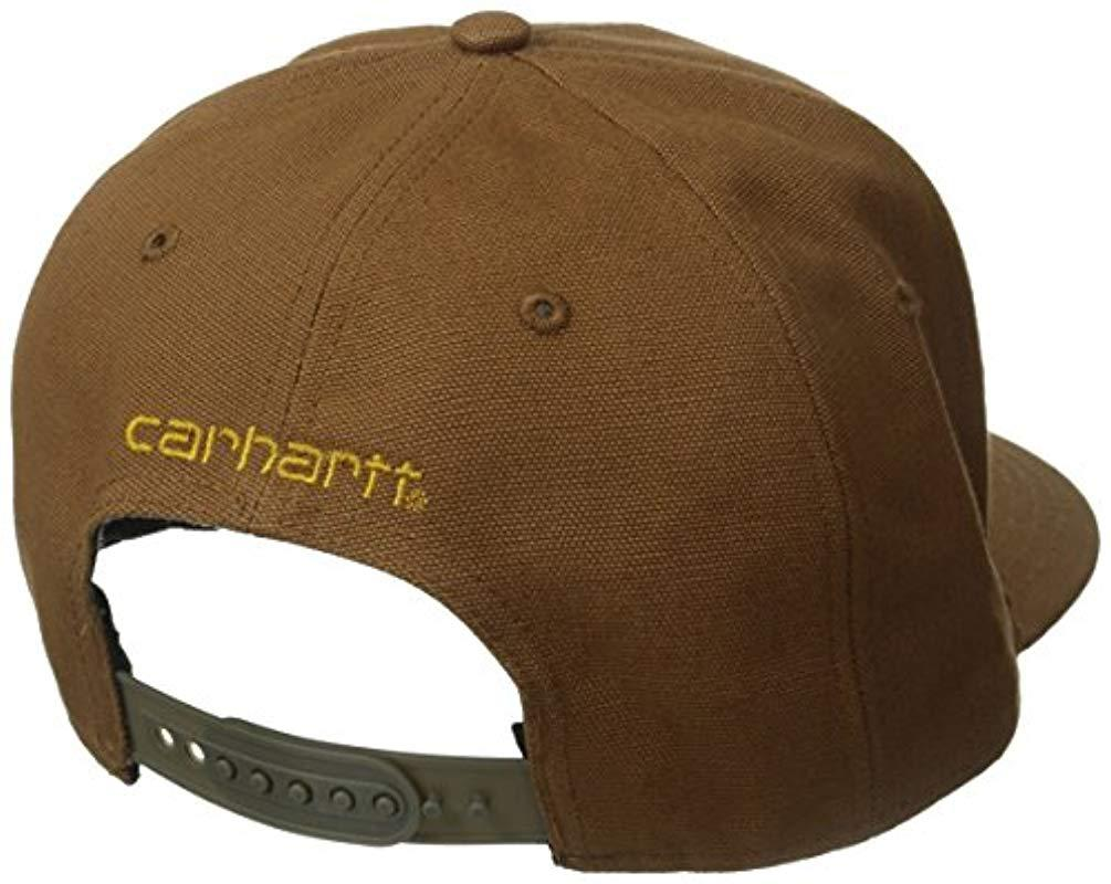 dbd09a77b9d Carhartt - Brown Moisture Wicking Fast Dry Ashland Cap for Men - Lyst. View  fullscreen