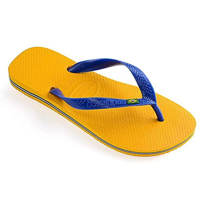 6b455c46528c5 Lyst - Havaianas Brazil Sandal Flip Flop for Men - Save 25.0%