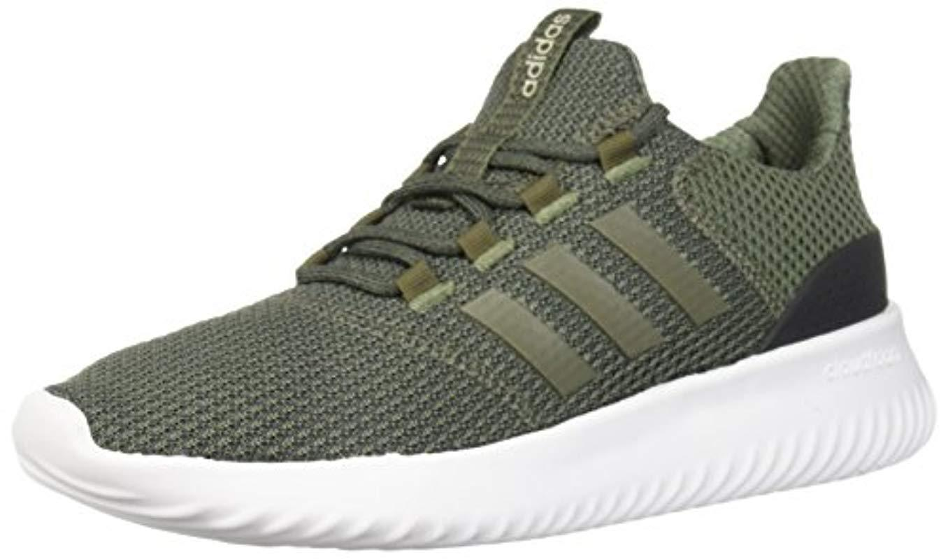 d69adaaa8 Lyst - adidas Cloudfoam Ultimate Running Shoe in Green for Men