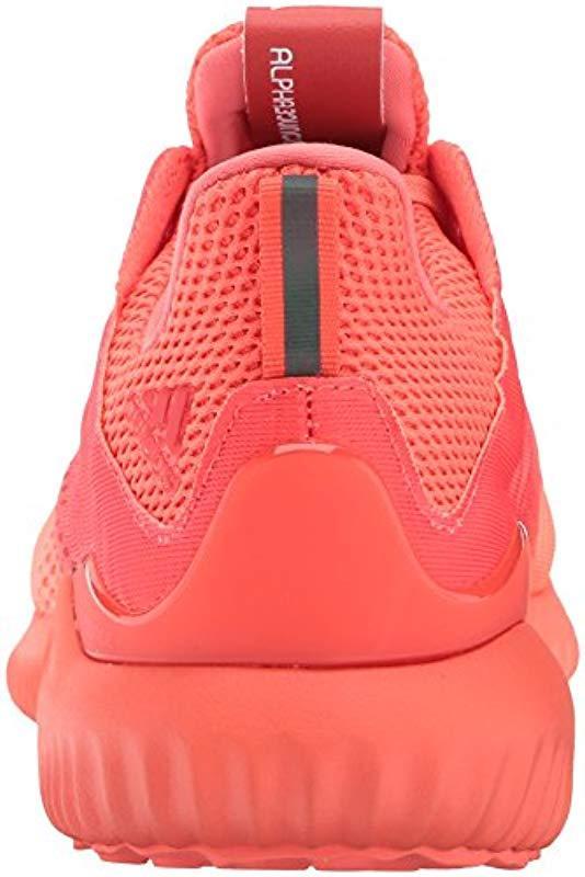 03b60bc40bef9 Adidas - Pink Alphabounce Em W Running Shoe - Lyst. View fullscreen