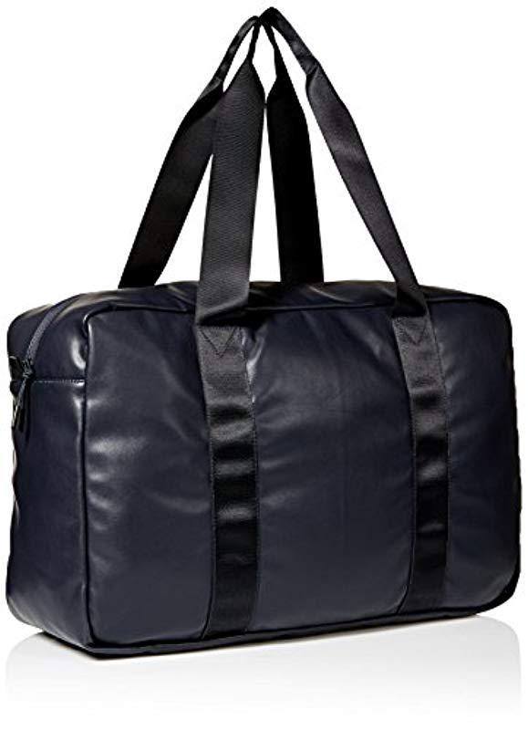 586d72e96ca Armani Exchange - Black Rmni Exchnge Logo Duffle Bg for Men - Lyst. View  fullscreen