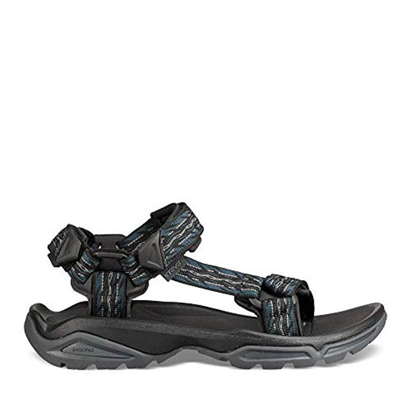 2b5280505b87 Lyst - Teva M Terra Fi 4 Sandal in Black for Men
