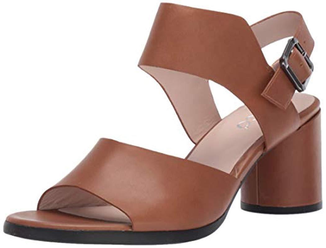 c7404d36c393 Lyst - Ecco Shape 65 Block Strap Heeled Sandal - Save 1%