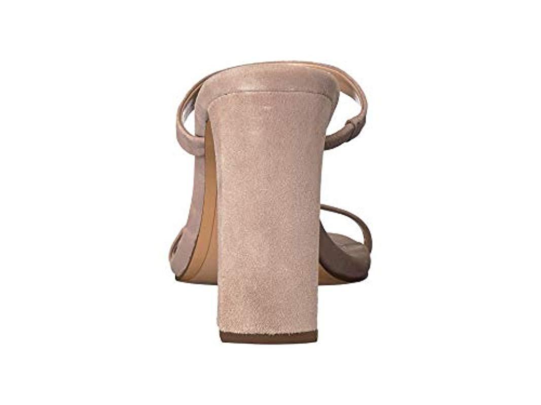 Sleek Heeled Mule Bcbgeneration Whitney Sandal Lyst 7gyvYbf6