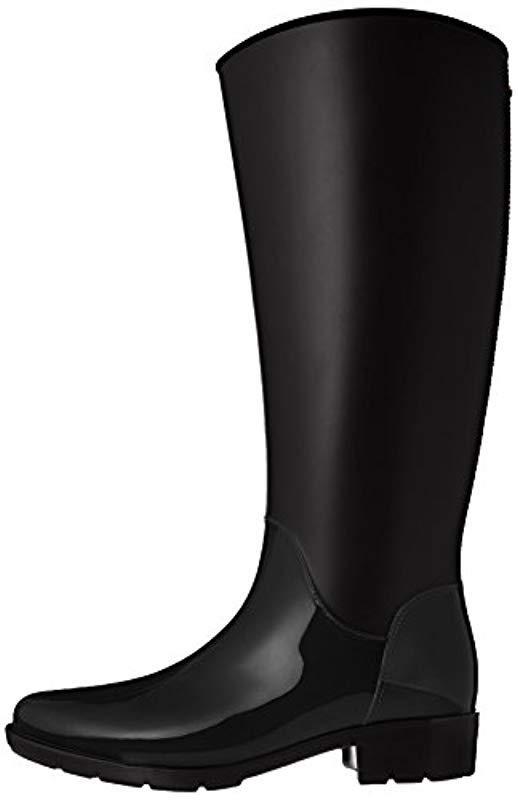 1f0ceb95af95ff Lyst - Sam Edelman Sydney Rain Boot in Black