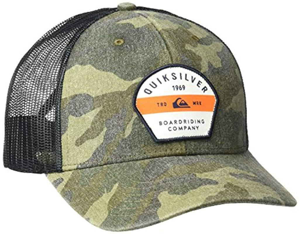 factory authentic d0141 dc095 Lyst - Quiksilver Silver Lining Hat for Men