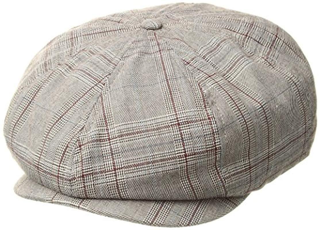 6cb28c15ca084 Lyst - Brixton Brood Newsboy Snap Hat for Men - Save 38%