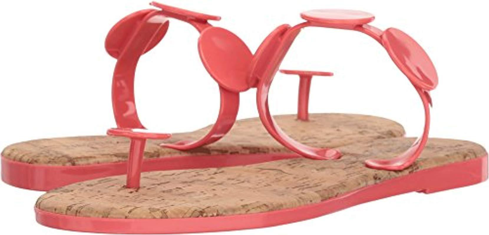 4439c469765aa ... Lyst - Bernardo New Moon Jelly (new Ocean) Women s Sandals in Pink 100  . ...